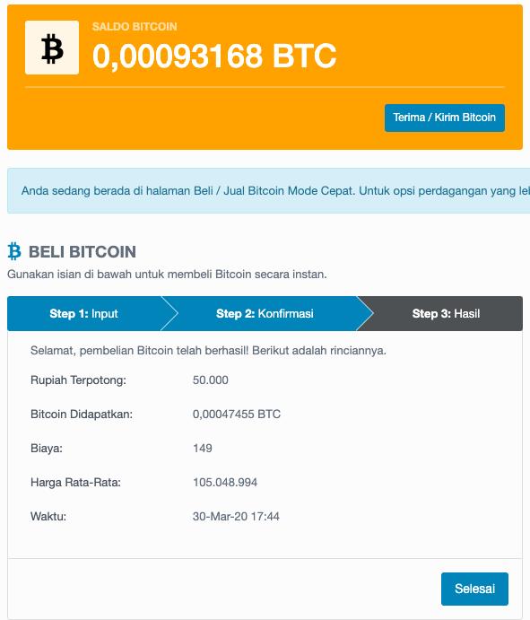 saldo bitcoin