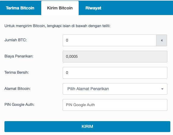 Kirim Bitcoin
