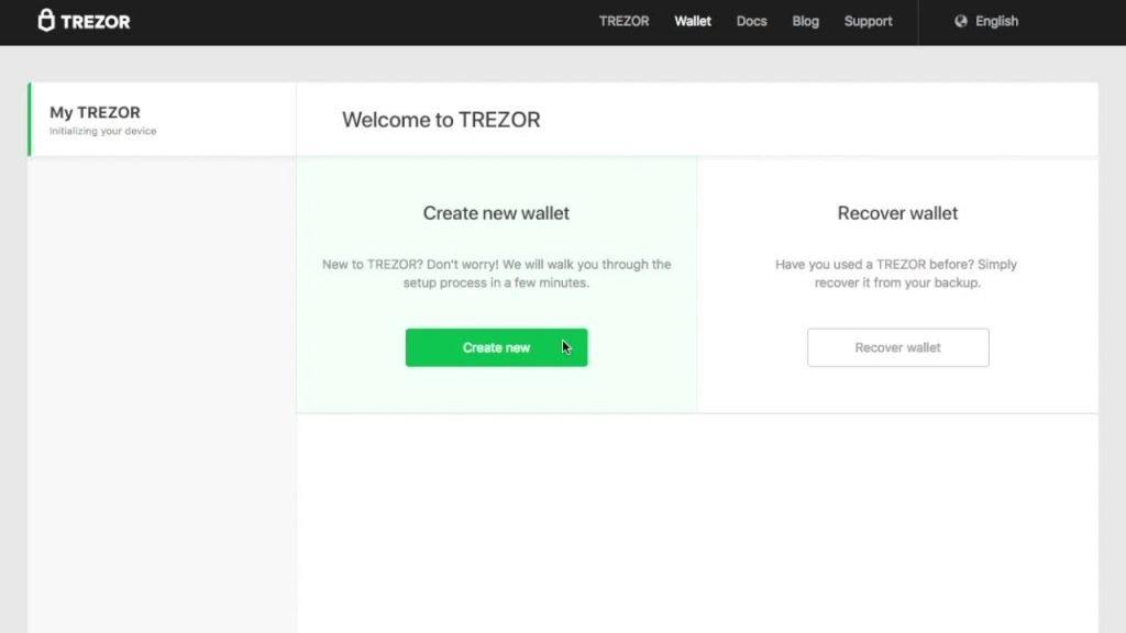 create bitcoin wallet