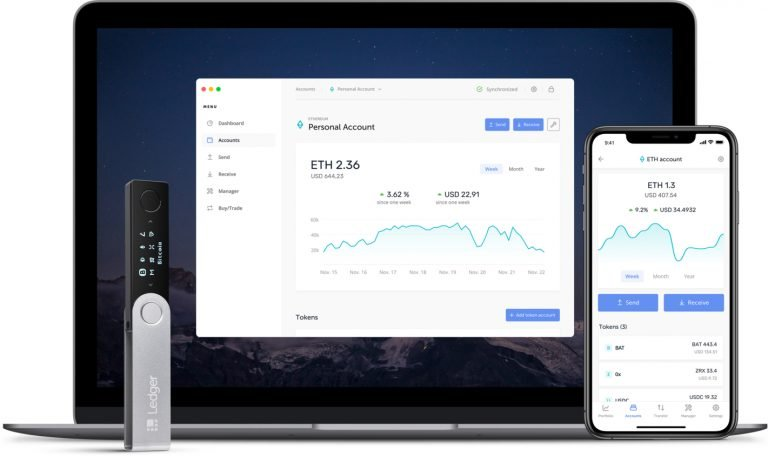 ledger live cryptocurrency